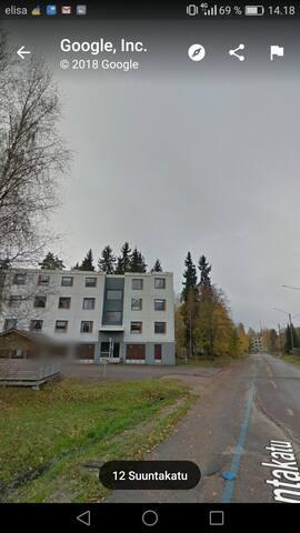 Iso 90m2 asunto lähellä Imatrankosken keskustaa