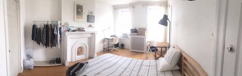 Super Bright Super Large Room in Cozy BedStuy