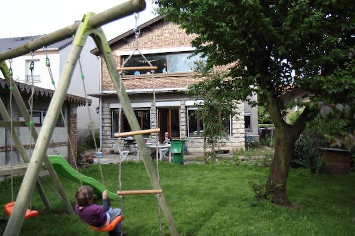 Maison 160m² avec jardin à 17 km de Paris - Savigny-sur-Orge - House