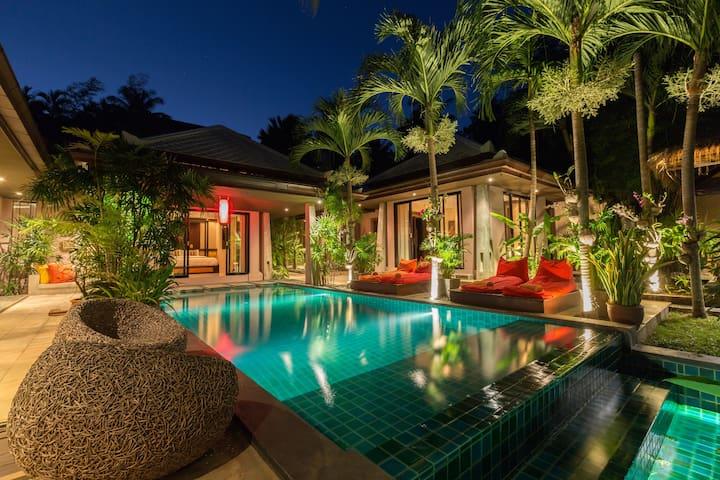 Villa Samprasada--Balinese Design