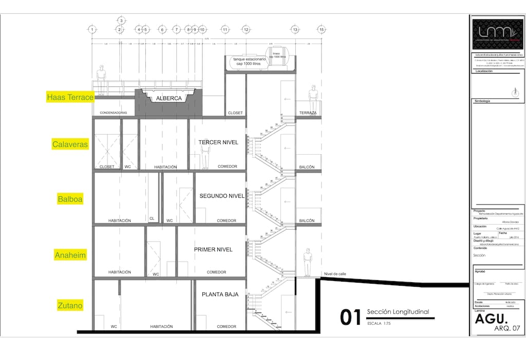 Look for this listing on the building diagram