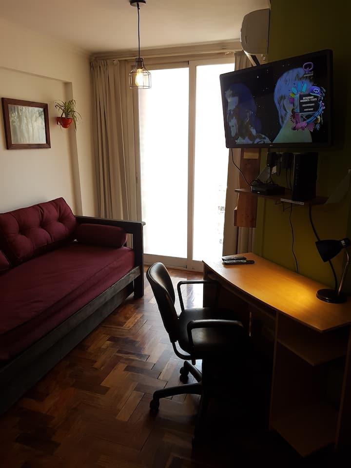 Departamento luminoso y cómodo en Nueva Córdoba.