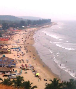 Cozy Ac rooms with kitchen Just 2min walk to Beach - Arambol