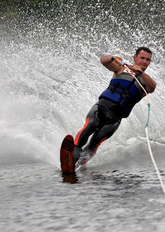 Great for water skiing