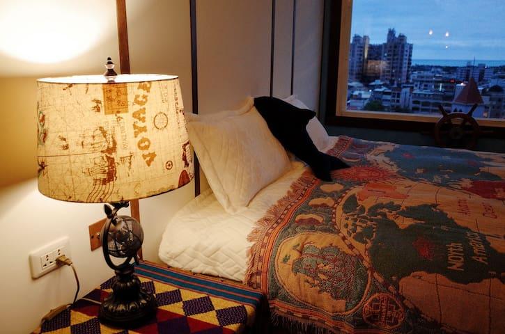 灣灣海傳奇海景雙人房. 滿滿五星好評的房型,歡迎你來留下美好回憶