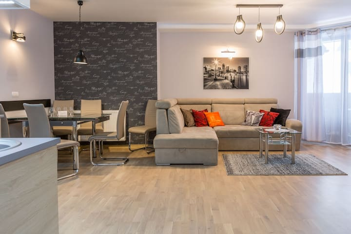 Apartament Relax - przestronny, blisko centrum.