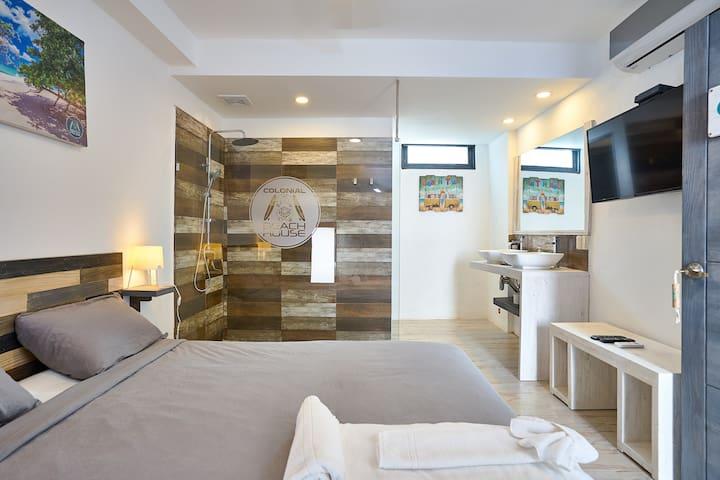"""Colonial Beach House - Room """"Las Terrenas Beach"""""""