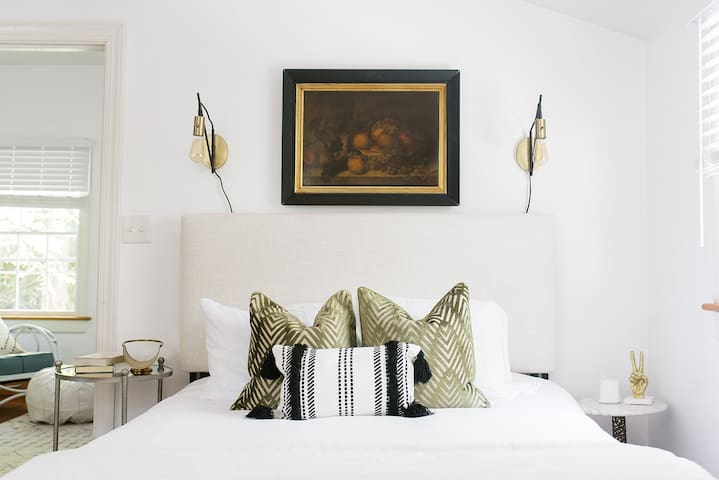 Uniquely styled spaces to relax and rejuvenate
