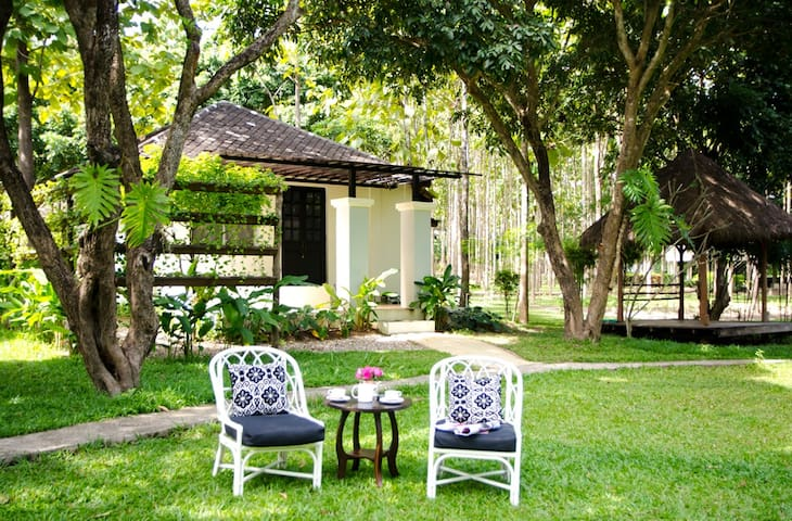 Peaceful Cottage/Chiang Mai /Free Breakfast for 2