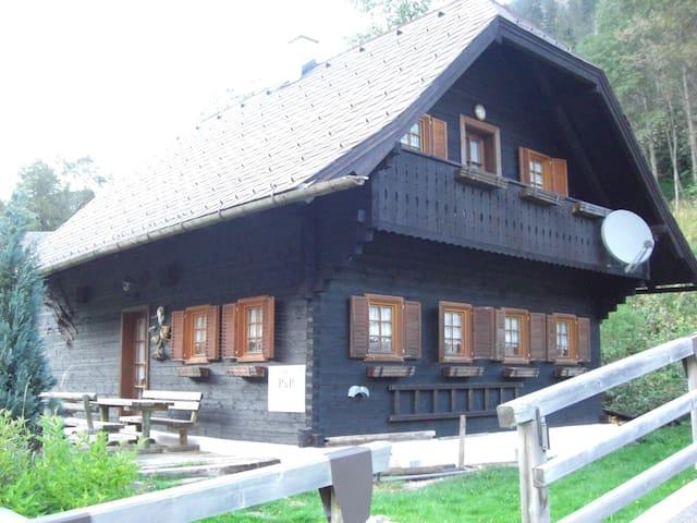 Urgemütliches Holzhaus in der Steiermark