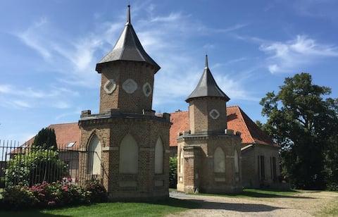 Gîte de la ferme du château à 15 min d'Amiens