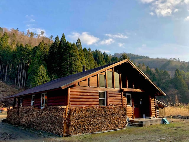 京都美山party village(Kyoto Miyama Log Cabin)
