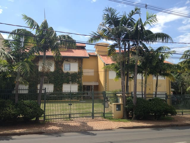 Comfortable suite 5 min walking from Unicamp - Campinas - Apartment