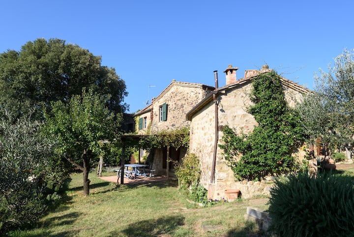 Etruscan house in magic location
