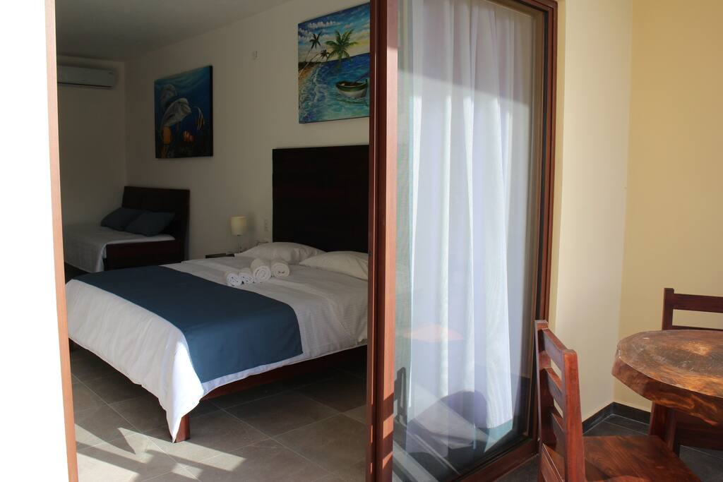 camera king size, Casa Santiago, Tulum