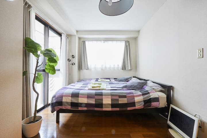 Spacious apartment No transfer from Narita@Nippori - Arakawa-ku - Huoneisto