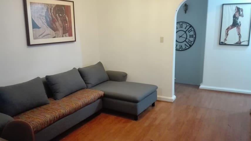 Agradable habitación centro de Coyoacán