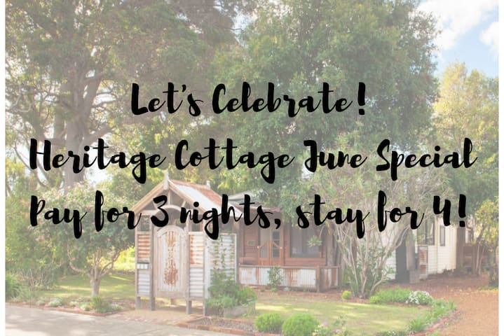 Heritage Cottage | Margaret River - Cosy Character