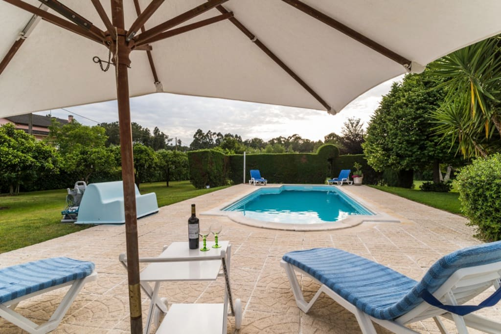 Pool with total privacy, exclusively for our guests