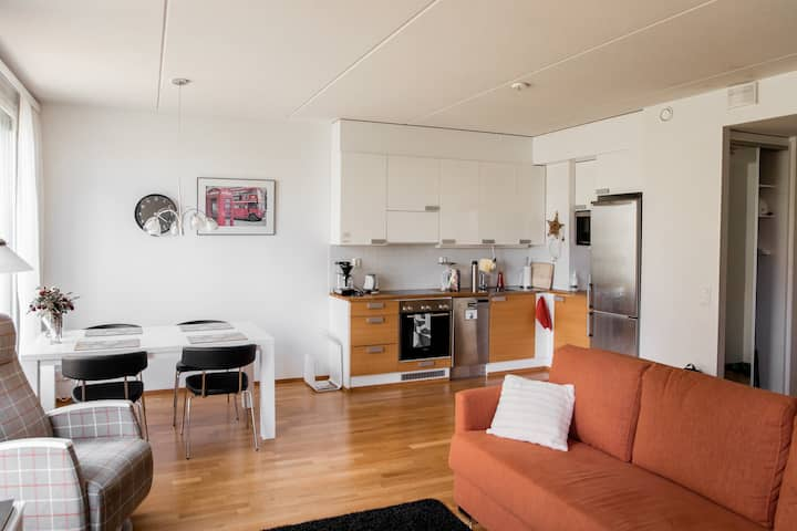 Superhost's luxury apartment with free parking