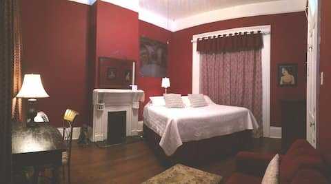 """Frenchmen House """"Red Room"""""""