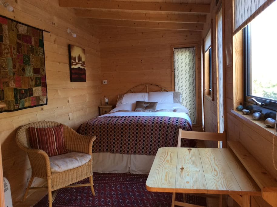 You may also take breakfast in your cabin at a time suitable to you