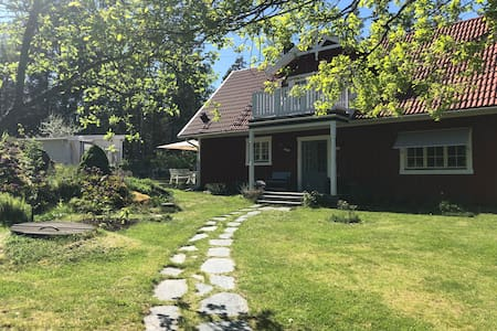 Classic house in the Stockholm archipelago