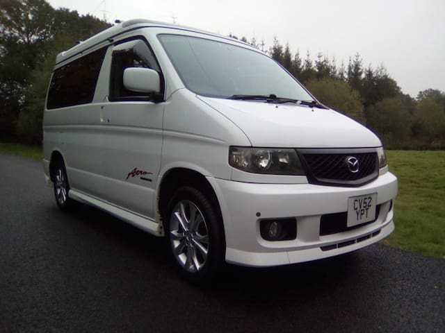 Bongo 2 go - campervan for hire