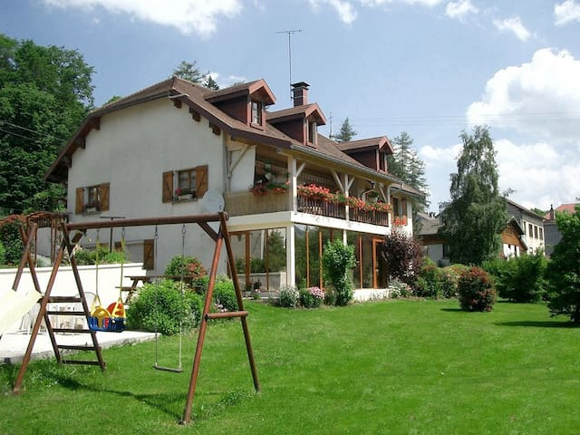 Gîte n°1804 du Jura avec sauna, classé 3 épis - Foncine-le-Haut - Leilighet