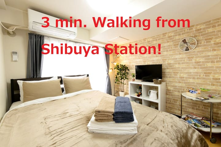 Cozy Room 3min Walking from Shibuya Station