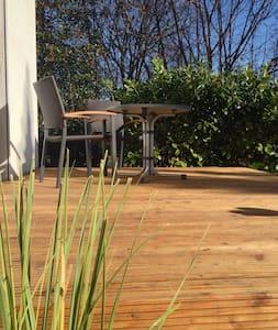 Heideunterkünfte Martin - Studio mit Holzterrasse - Amelinghausen - Hus