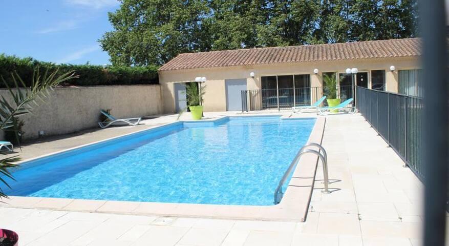 Chambre d'hotel festival-Avignon (pont 14 juillet) - Le Pontet - Bed & Breakfast