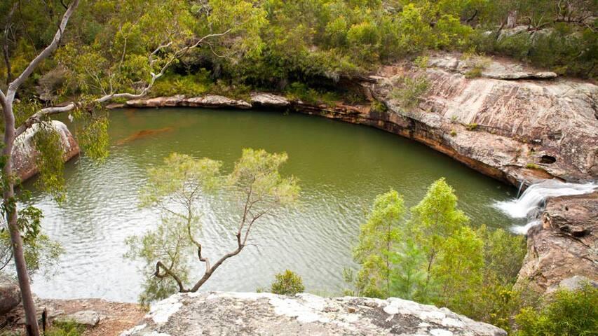 Minerva Pools At Dharawal National Park.