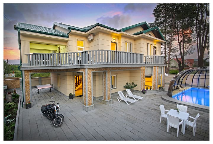 ⛱ Restcoast Villa with Private Pool ⛱ 50M to Sea