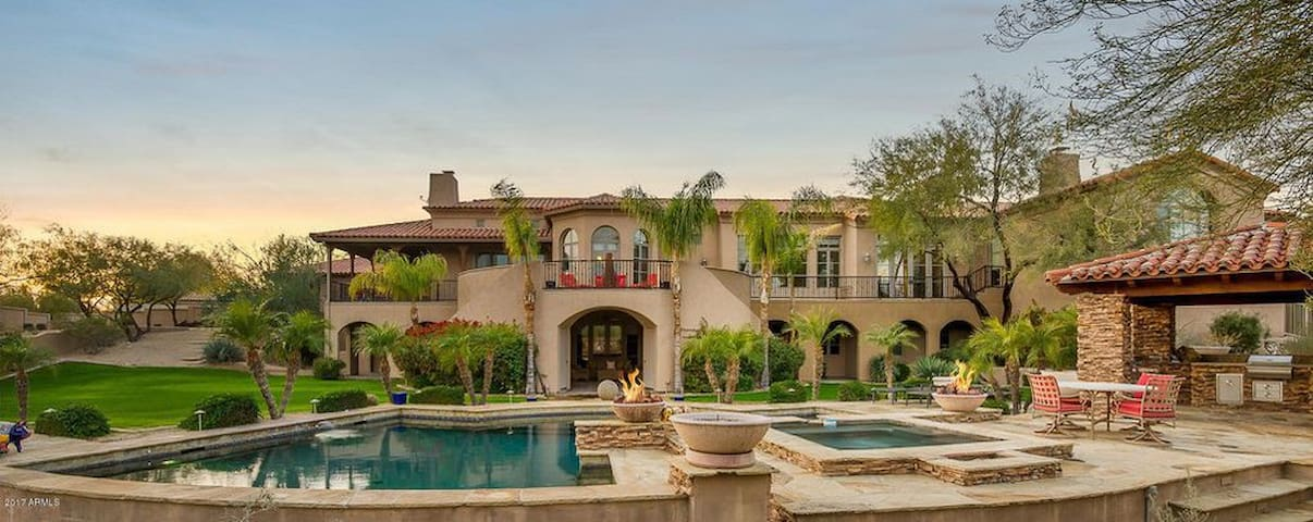 MAGNIFICENT 6 BED/8 BATH PARADISE VALLEY ESTATE