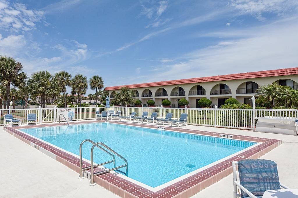 Spend an afternoon with the kids at the condo complex pool! - The pool is always a center of activity at Ocean Club. Kids love th