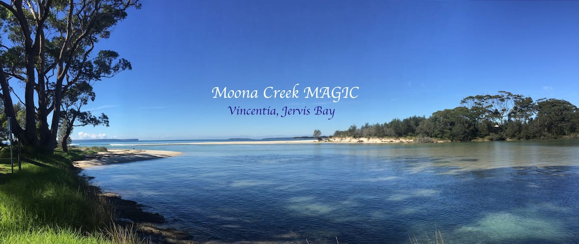 Moona Creek MAGIC -:- Vincentia Beach, Jervis Bay