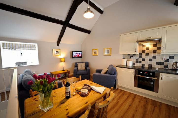 Corffe, Cosy country cottage, slps 3, indoor pool