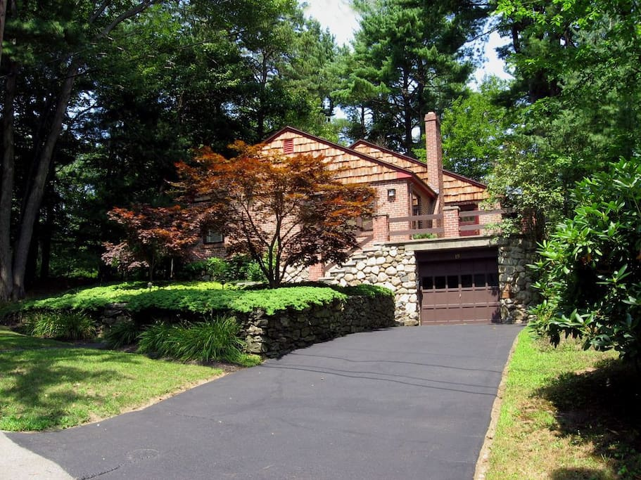 """We call this our """"Frank Lloyd Wright"""" home"""