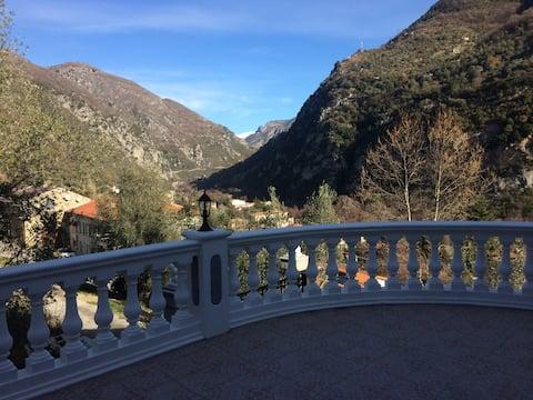 Appartement privatif au calme avec vue montagne