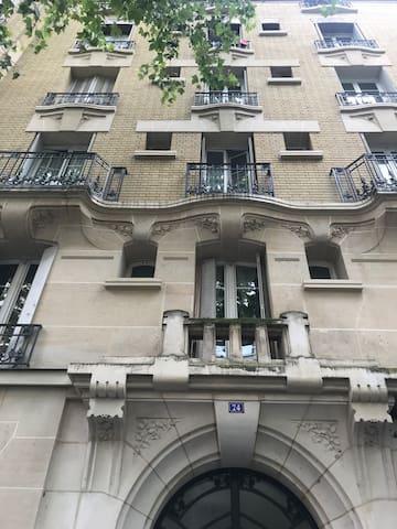 A comfortable apartment in Paris