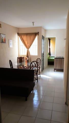 Agradable y cómoda casita en Cancún