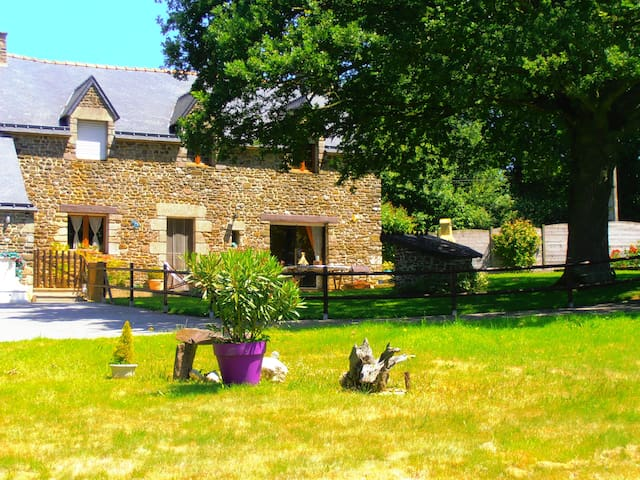 UN PARADIS VEGETAL - Guilliers - Penzion (B&B)