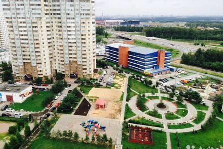 Просторная 3-х комнатная СКОЛКОВО - Odintsovsky District - Apartament