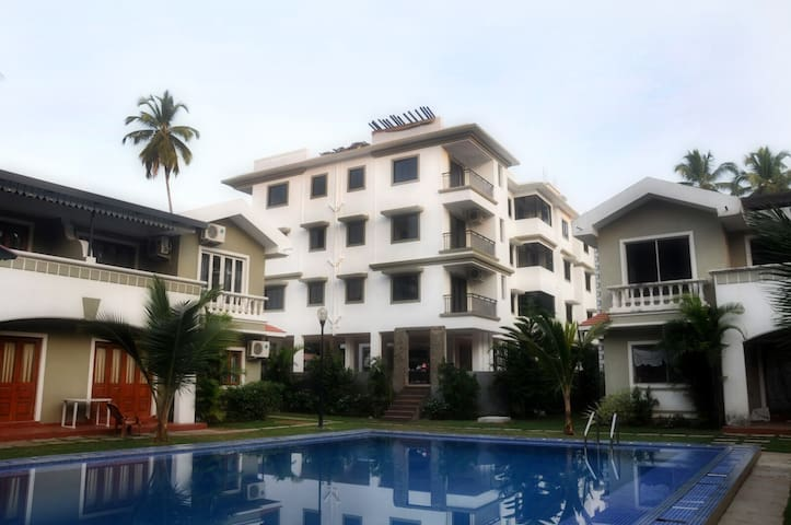 Luxurious 1 BHK Serviced Apartments in Goa