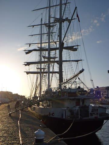 Fécamp's harbour