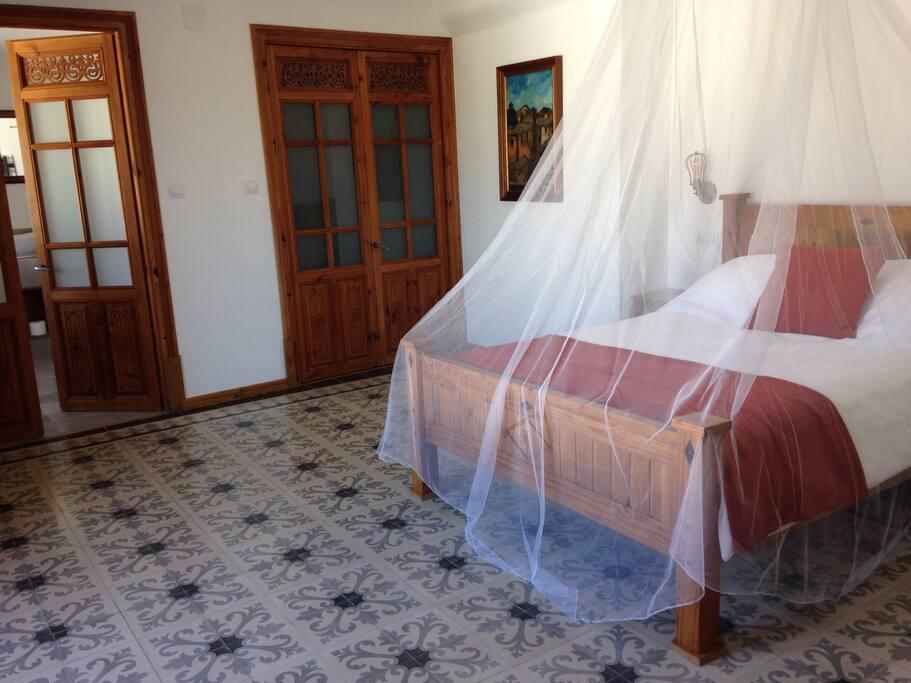 Flor de Lis bedroom