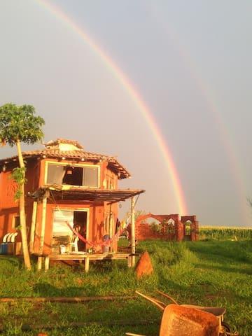 Experiência de vida sustentável ECOVILA DA LAGOA