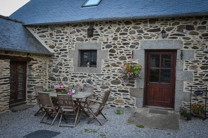 Cosy barn conversion in central Brittany. - Saint-Martin-des-Prés - Hus