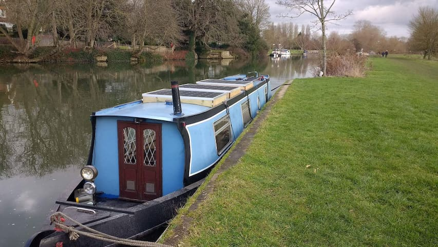Try the houseboat life! - Oxford - Bateau